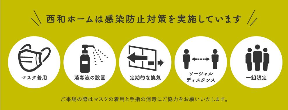 感染防止対策実施