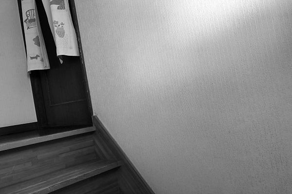 階段に手すりを取りつけ、昇り降りを安全に。